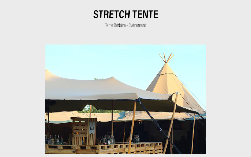 Stretch Tente inuit